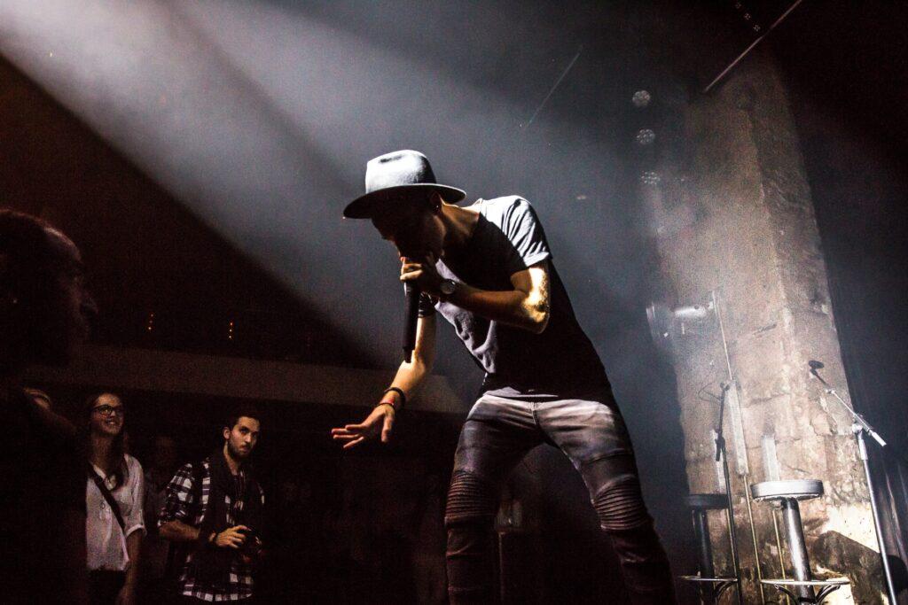 Hans Beatbox Als Beatboxer Und Künstler Auf Der Bühne Im Mascotte In Zürich